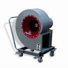 4-72-12 movable air blower for grain depot